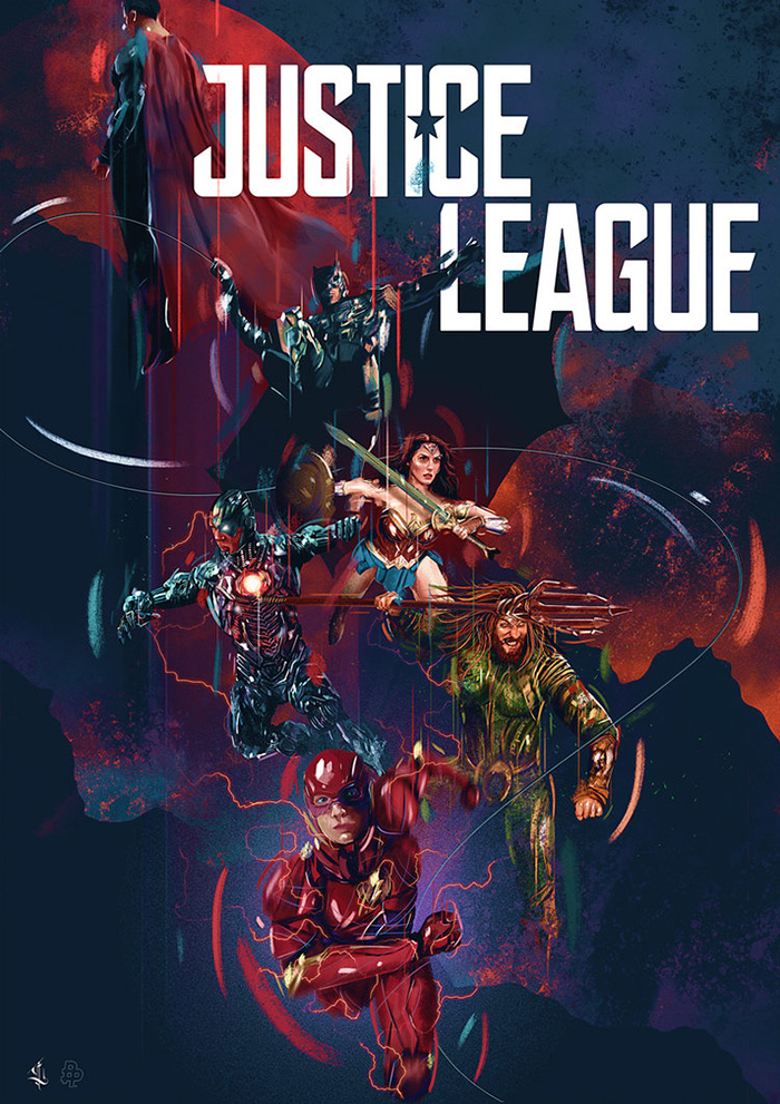 Justice League by Luke Butland