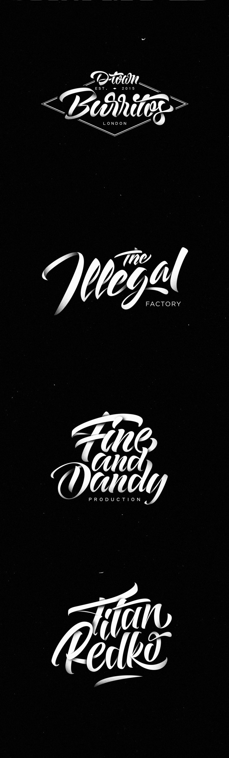 Lettering Logos Collection N°4