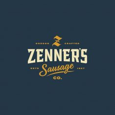 Zenner's Sausage Co. by @murmurcreative