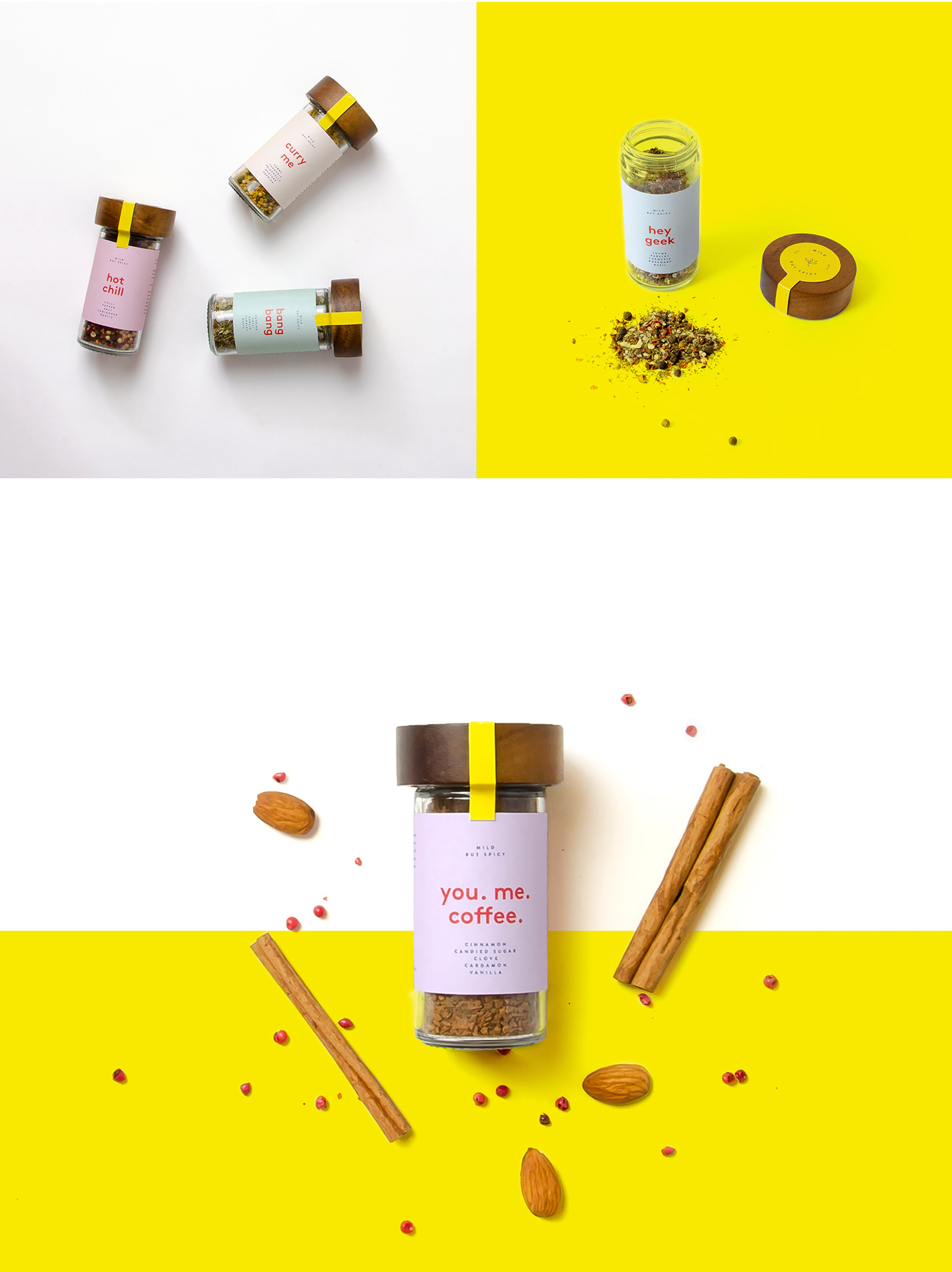 Mild but Spicy – branding and packaging