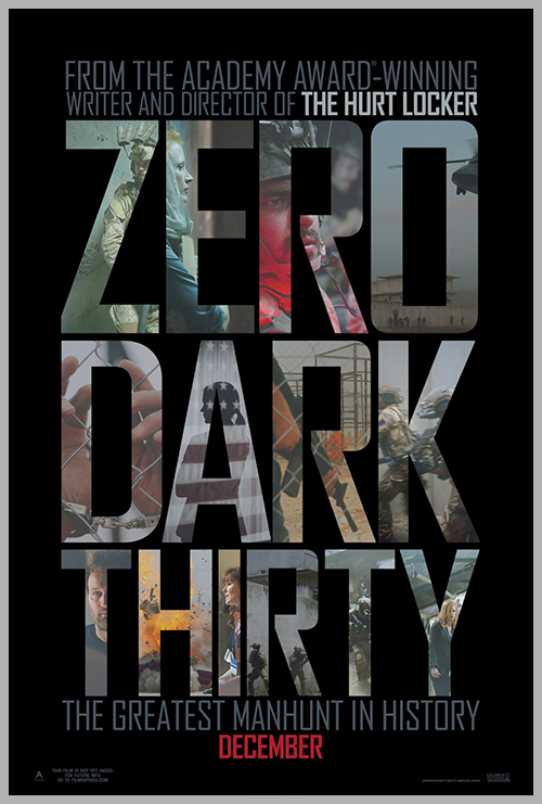 Zero Dark Thirty Poster Design