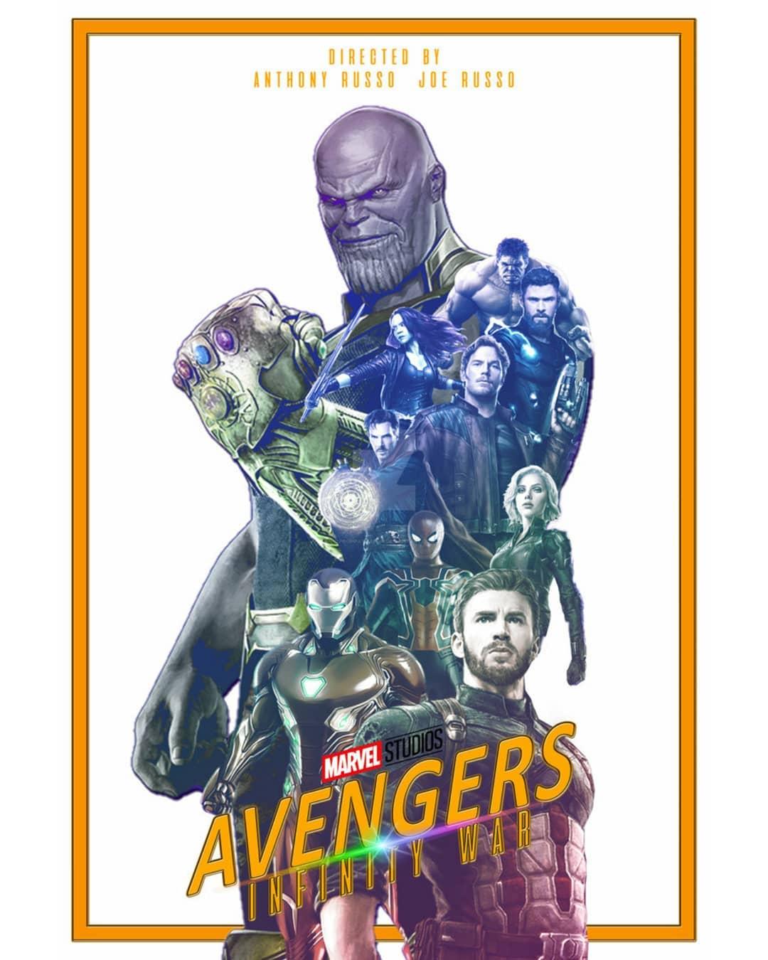 Avengers: Infinity War Poster Design