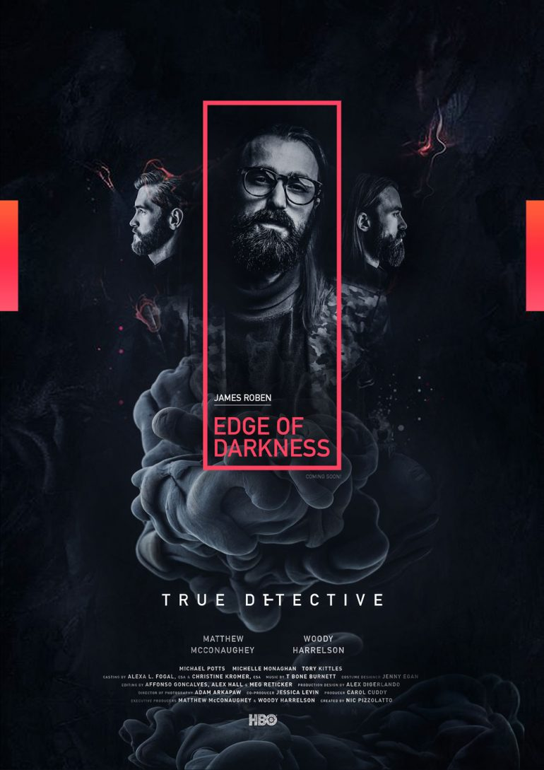 EDGE OF DARKNESS POSTER DESIGN