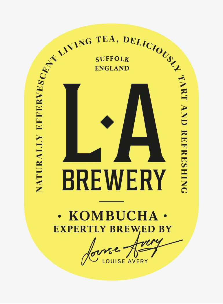 Kombucha Grows Up With An Assist From Here Design