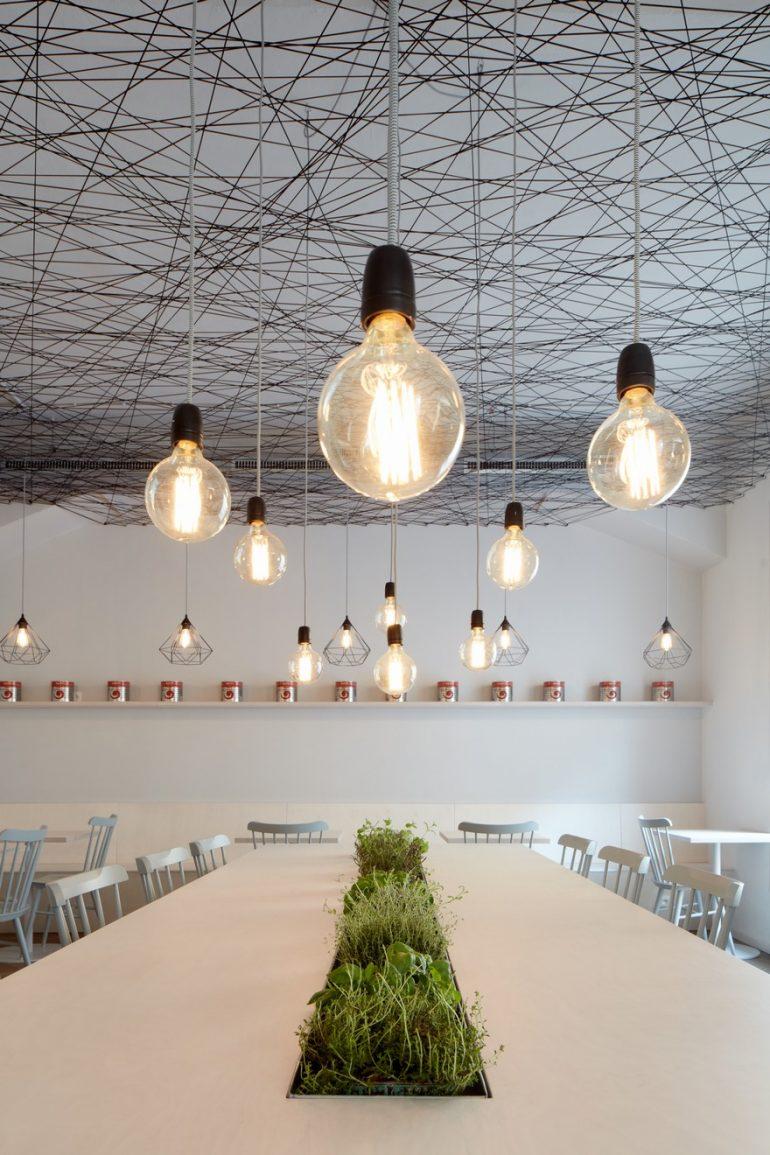 Mar.s Architects Designed the Interior of Prague´s Lasagneria Bistro