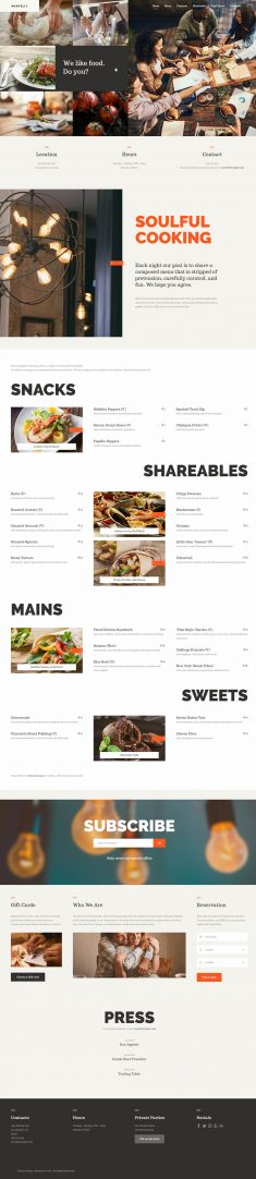Mantelit – Restaurant