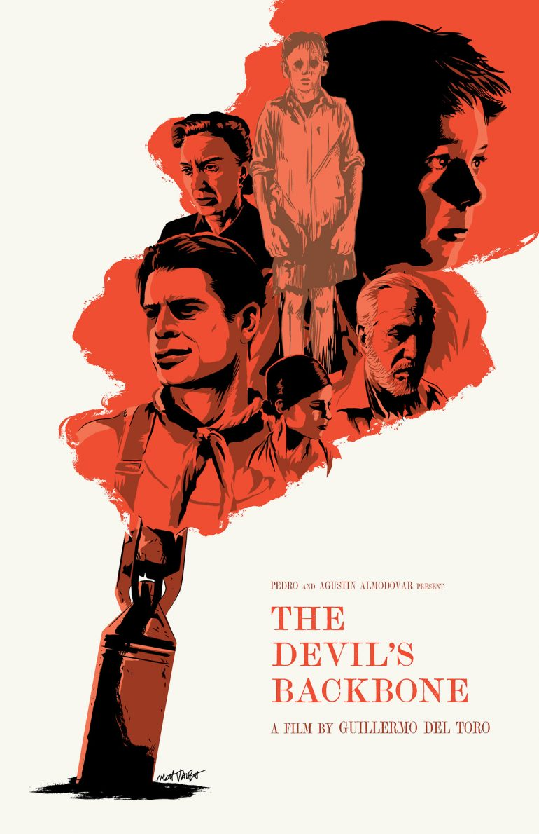 The Devil's Backbone poster by Matt Talbot
