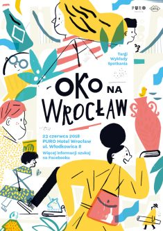 Eye on Wroclaw fair Poster