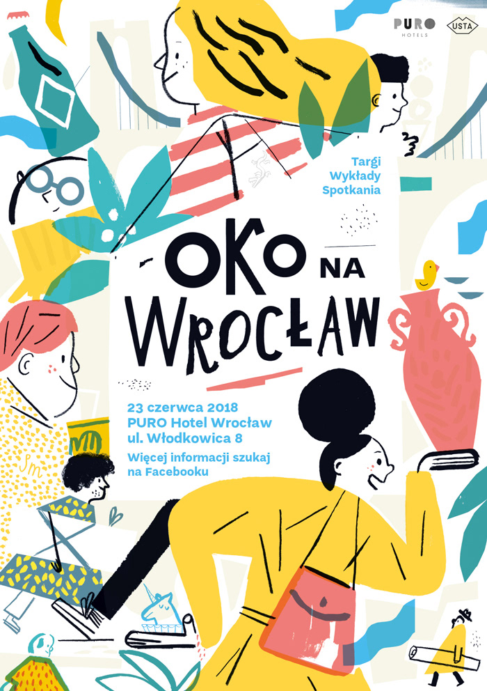 Eye on Wroclaw fair Poster