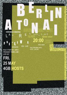 Festival Poster Berlin Atonal | Budarina diana