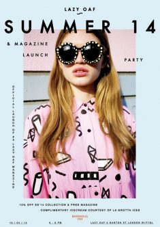 Lazy Oaf SS14 Magazine Launch