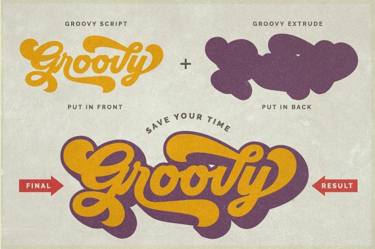 Groovy – Retro Font