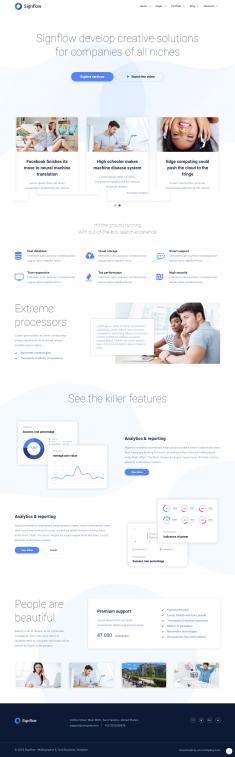 Signflow – Ultra Modern Tech & Startup