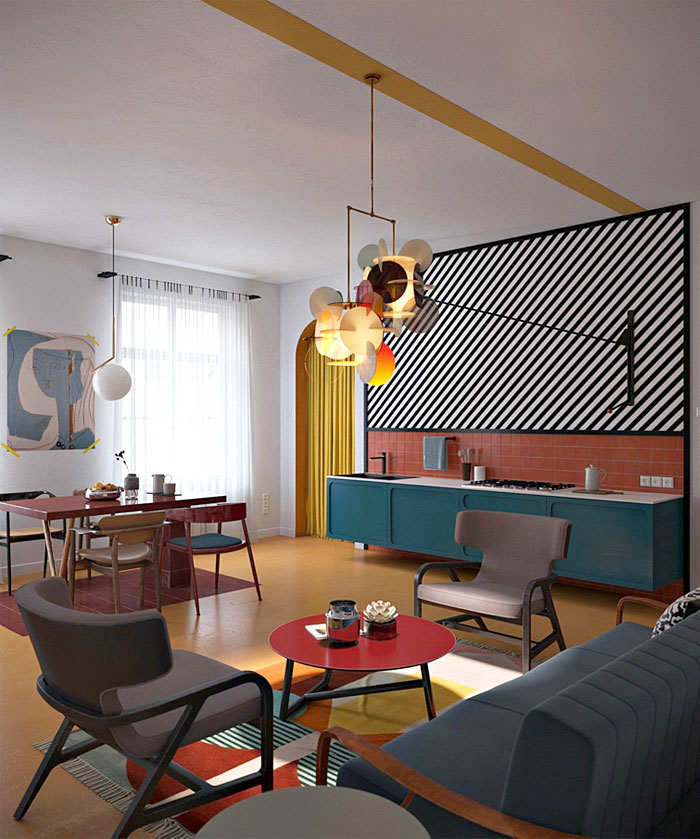 Open Plan Kitchen – Living Room