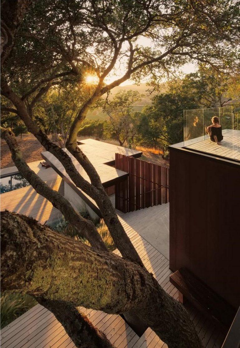 Sonoma Residence by Lundberg Design