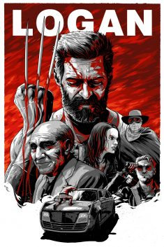 Logan illustrated alt poster