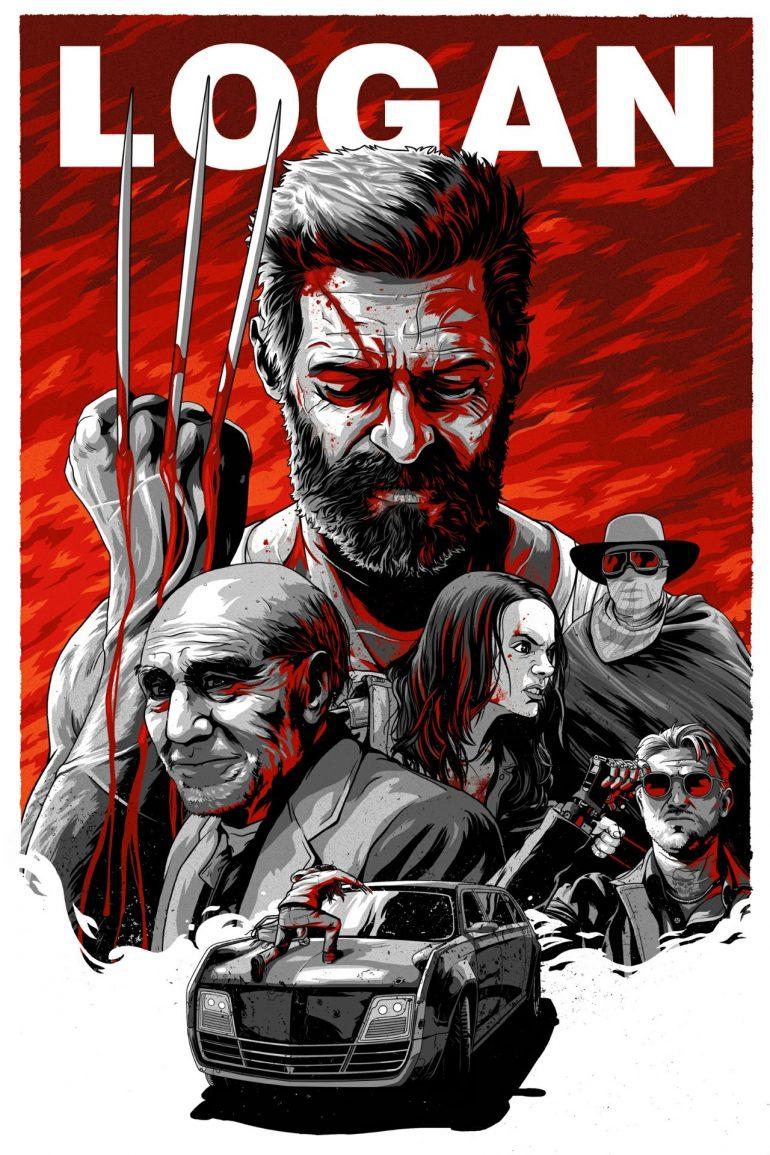 Logan illustrated alt poster
