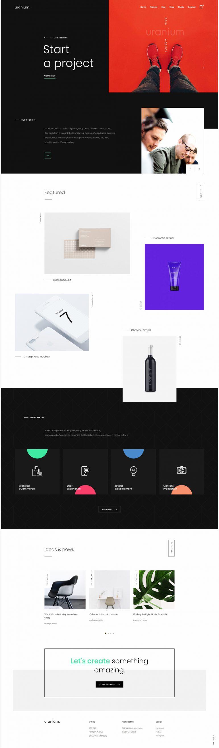 Uranium – Creative Portfolio