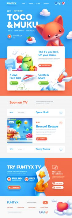 Website design: Best for Kids!