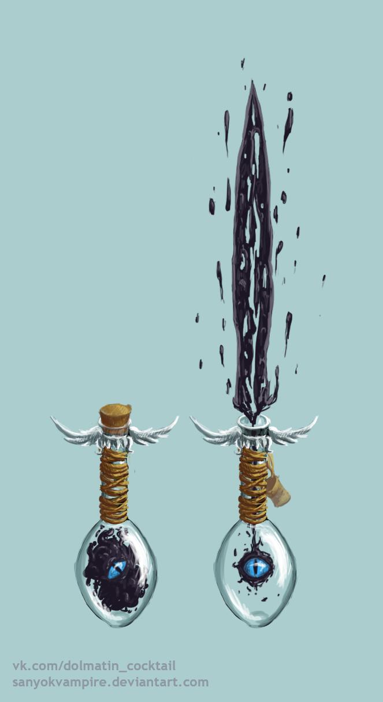 zalgo sword by SanyokVAMPIRE