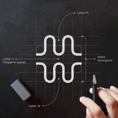 MWH Monogram Grid Process by aCreative