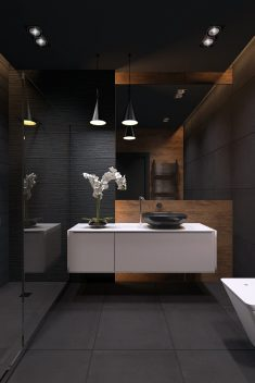 bathroom / blackstyle
