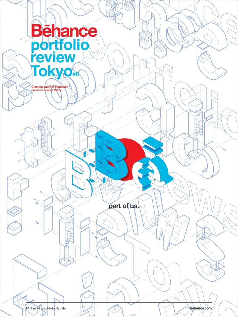 Behance Japan Portfolio Review #6 // Poster