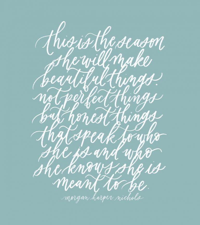 poetry by @morganharpernichols has been speaking to my heart, people 💗💗💗