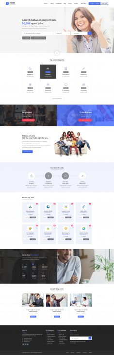 Jobers – Job Board by themenum