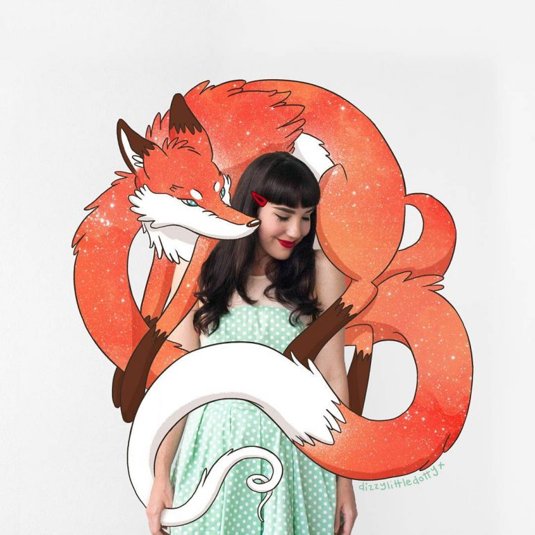 Foxy Feelings #wearewild 🌿 Lauren Carney