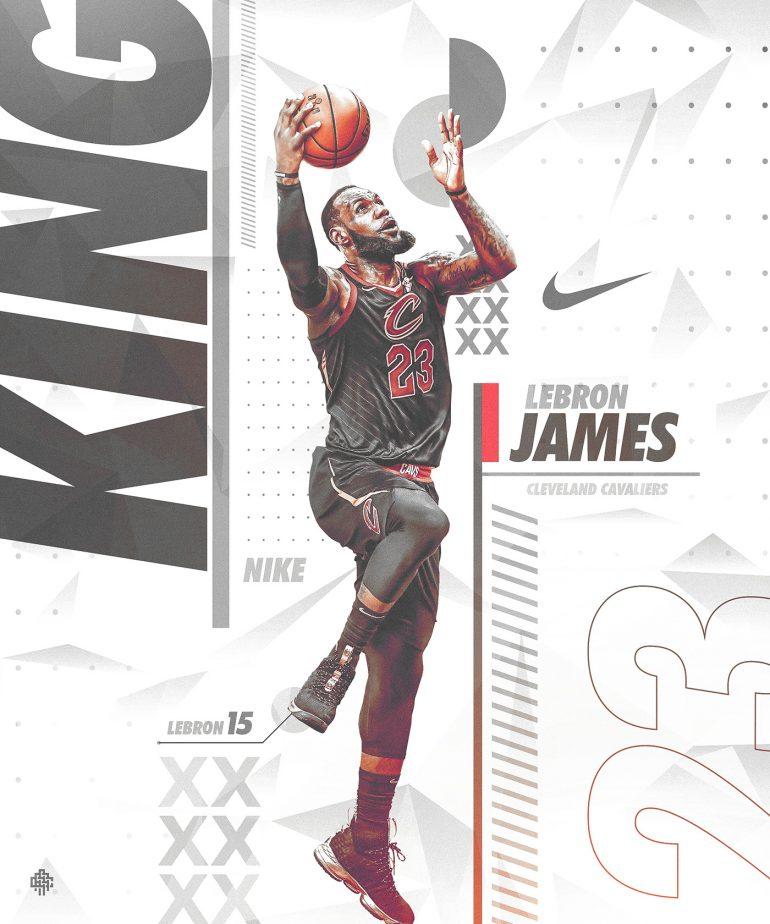 Nike Poster (Spoof) | Lebron 15