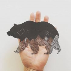 "Paper Wildlife – Kanako Abe . . . . #paper #paperart #paperartist #contemporaryart…"""