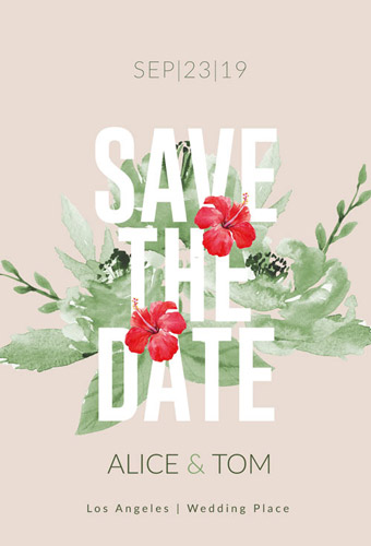 Wedding – Save the Date Card