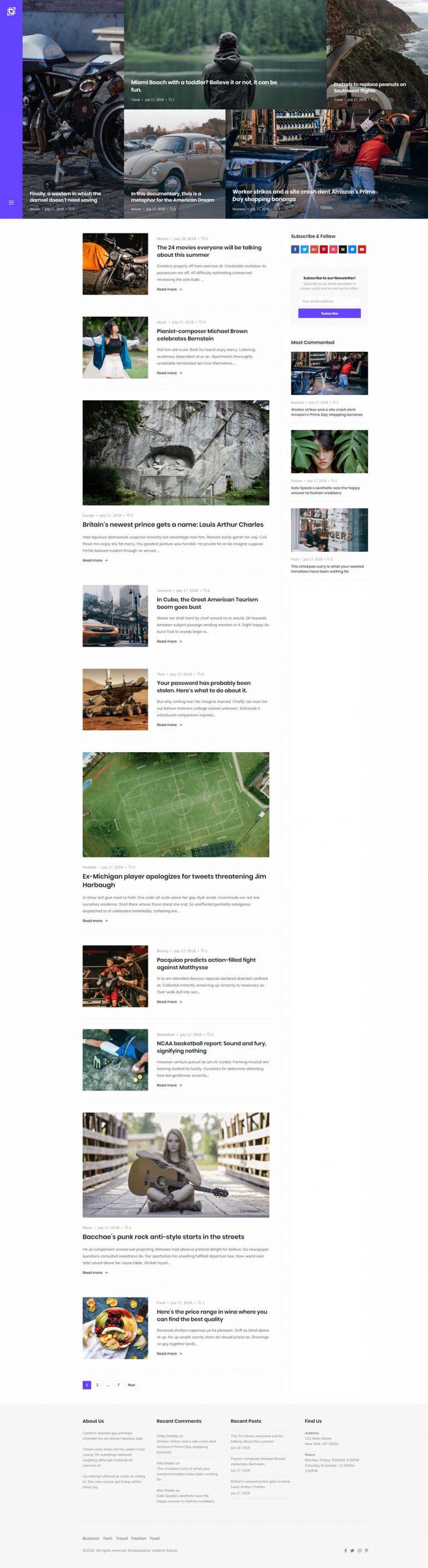 Sojka – Magazine & Personal Blog