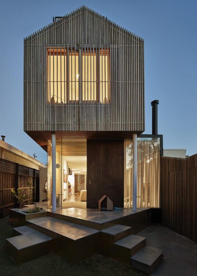 Victorian-Era Cottage In Melbourne Gets a Modern Makeover