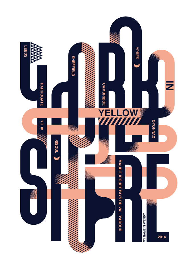 Yorkshire in Yellow / Sheffield Design Week