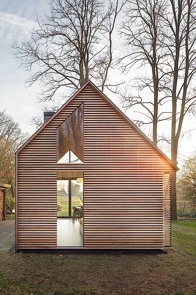 Architecture: A clever holiday home in Holland