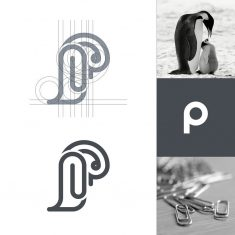 Penguin + Paperclips + P letter by Arif Firmansah