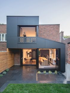 Black Box House in Montreal by Natalie Dionne Architecture