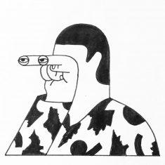 I'm watching you. by Camilo Huinca