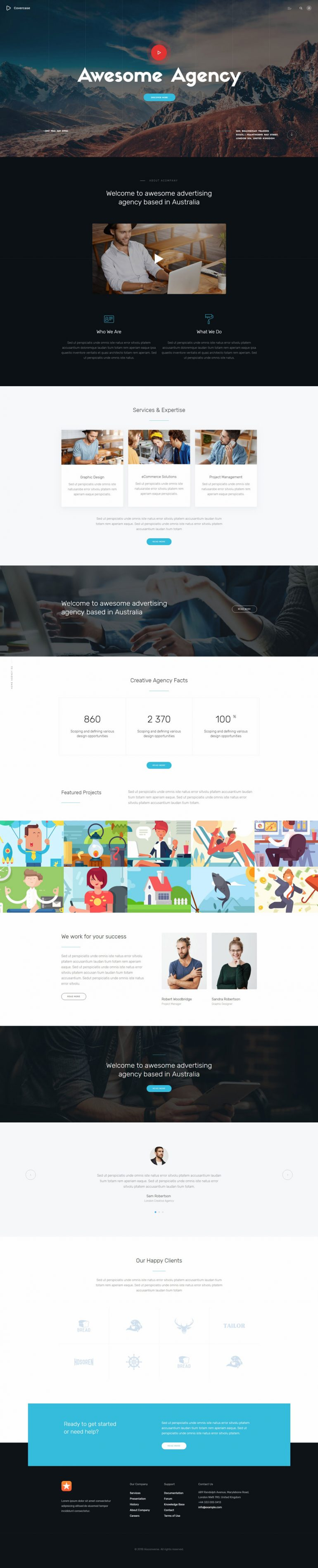 Covercase — Agency