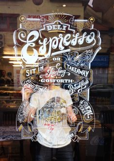 Deli Espresso Window Sign