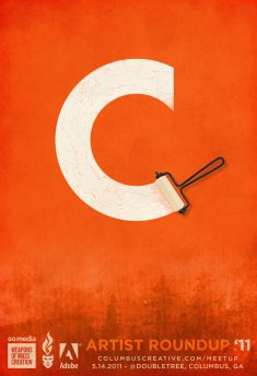 Columbus Creative Poster by Mike Jones