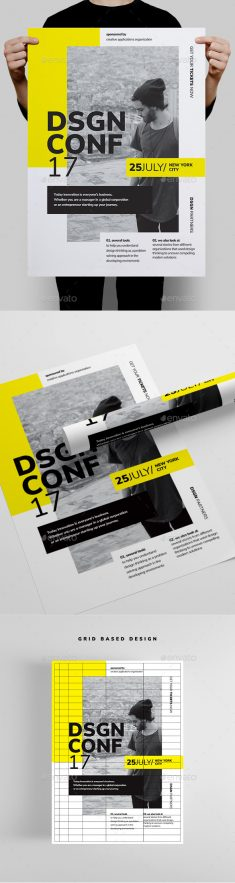 DSGN Series 1 Poster / Flyer Template by codetoform