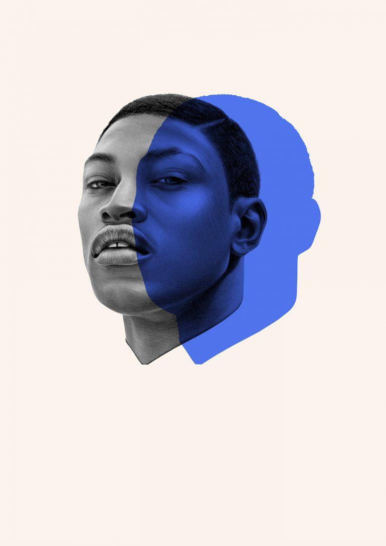 Electric Blue – Portrait of Dominique Hollington