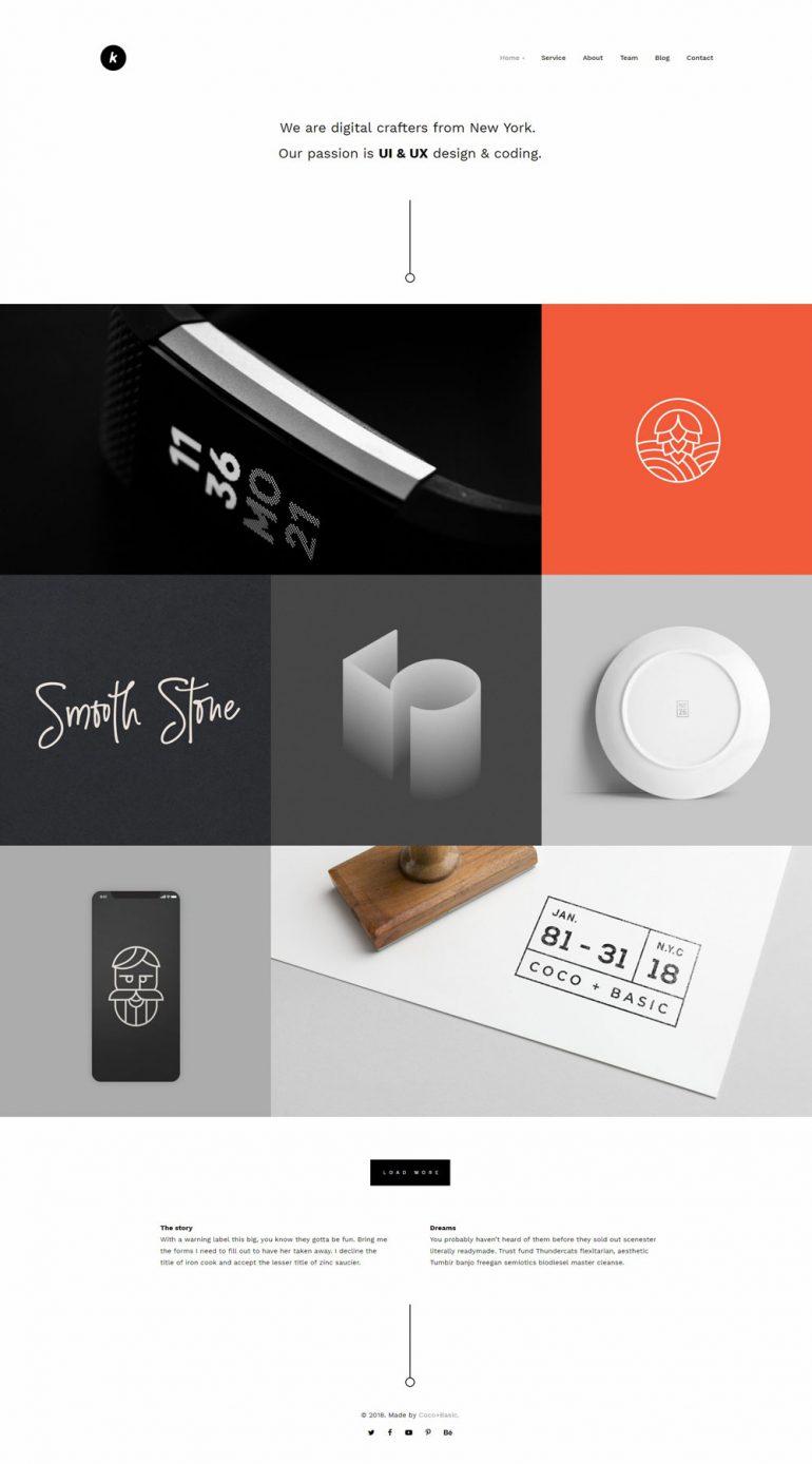 Kapena – Minimal Portfolio
