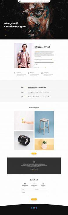 KNIT – Creative Personal Portfolio