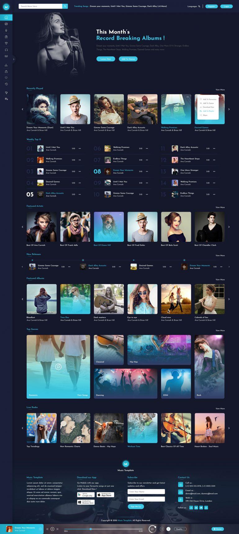 Miraculous Online Music Store by kamleshyadav