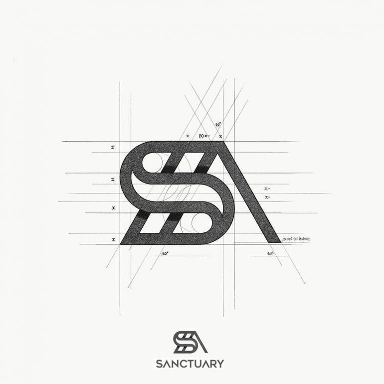 SANCTUARY Logo Design