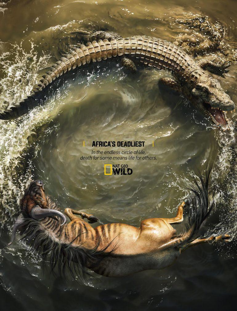 Africa's Deadliest – Crocodile X Wildebeest